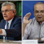 """Caiado ataca Ibaneis: """"Não se atreva falar mal da polícia"""""""